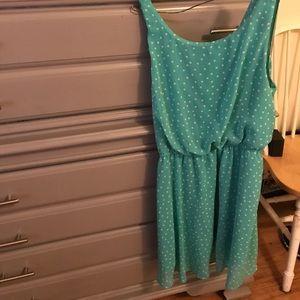 Dress mint green Forever21